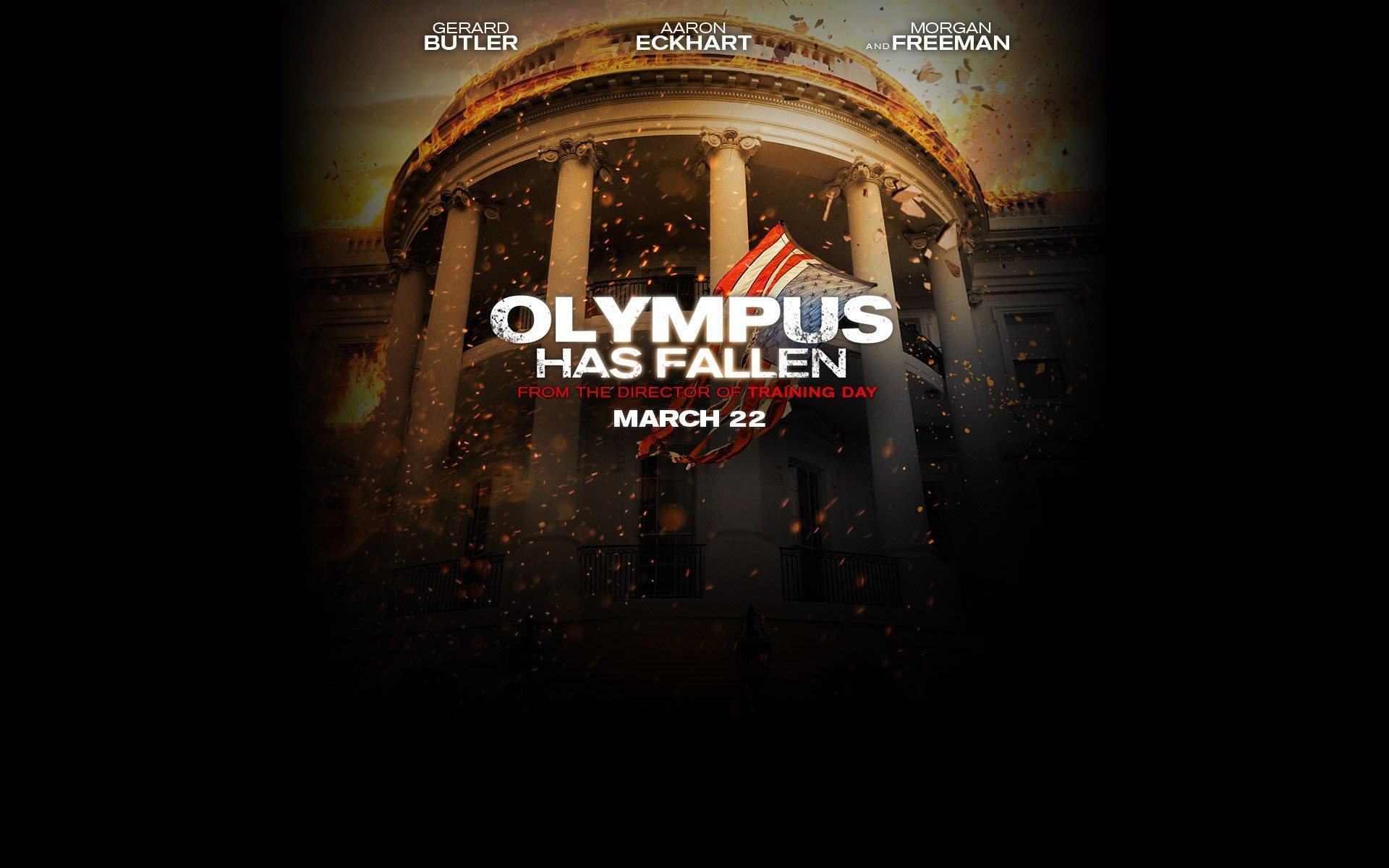 Olympus Has Fallen 2013 Android Wallpapers