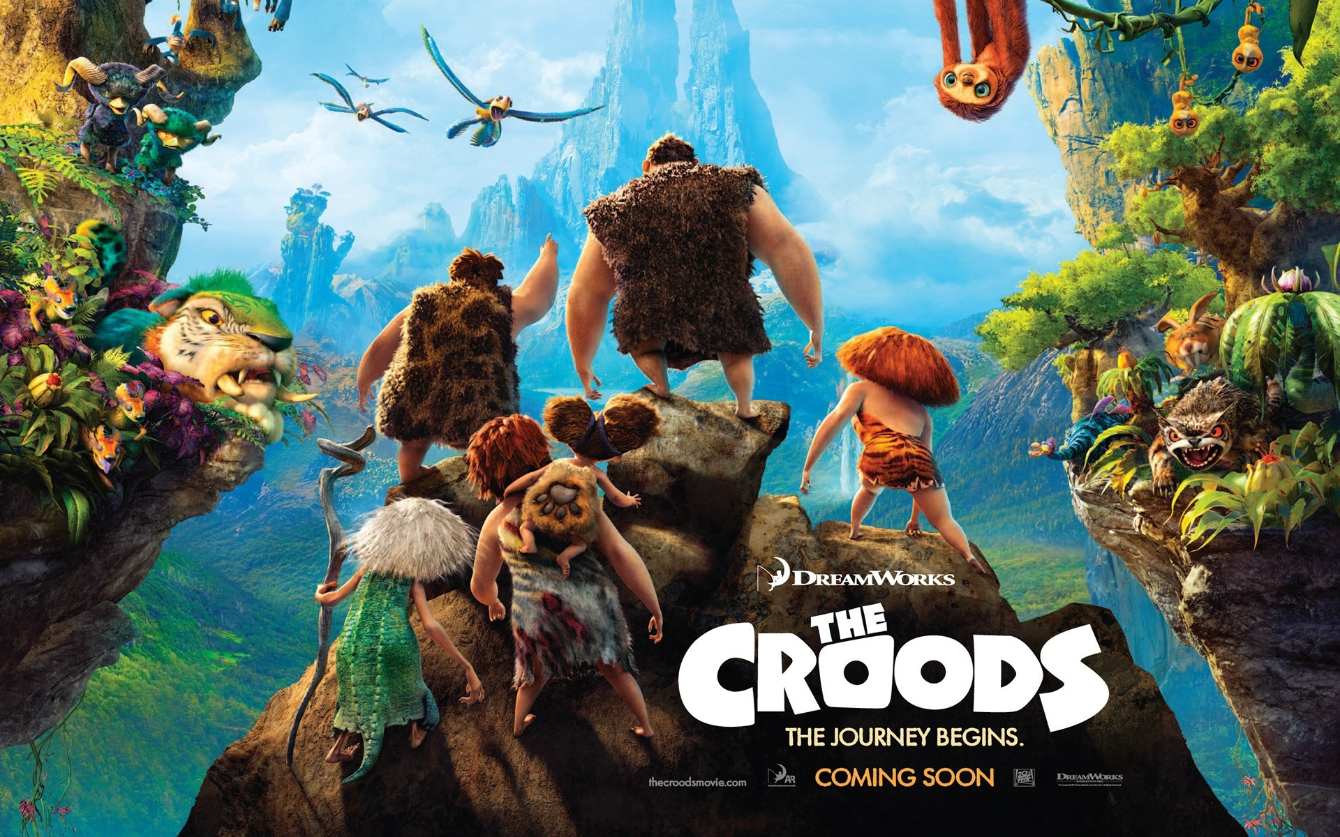 The Croods 2013 Movie - Phone wallpapers