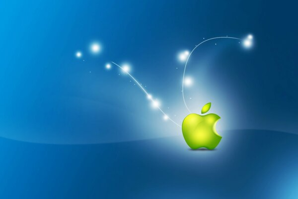 Artistic Apple Logo