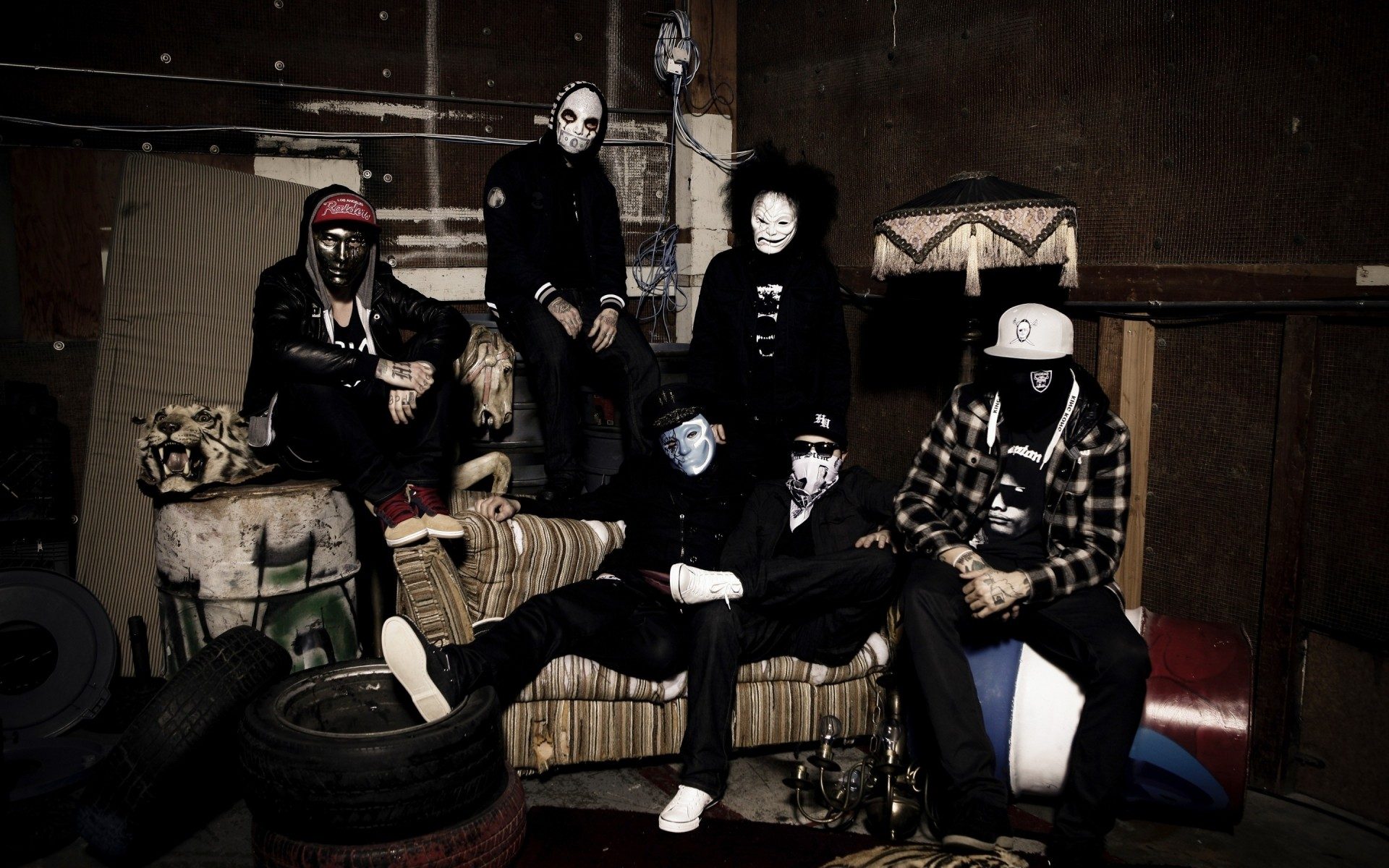 Hollywood Undead Mask Android Wallpapers For Free
