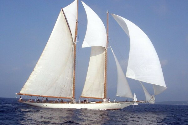 sea yacht sailboat sailing yacht