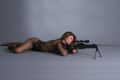 the redhead Rifle body tights