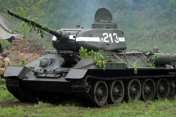 WWII victory t-34 Tank