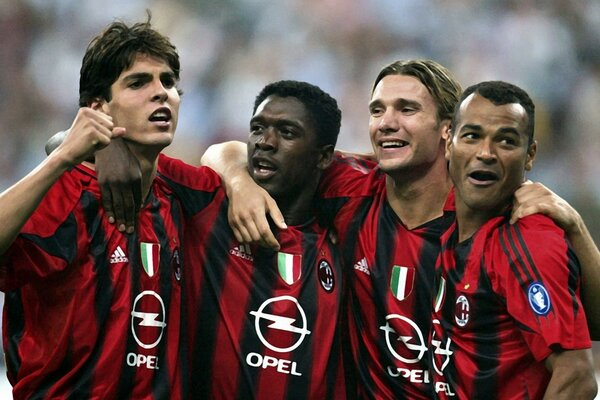 Milan Football Players