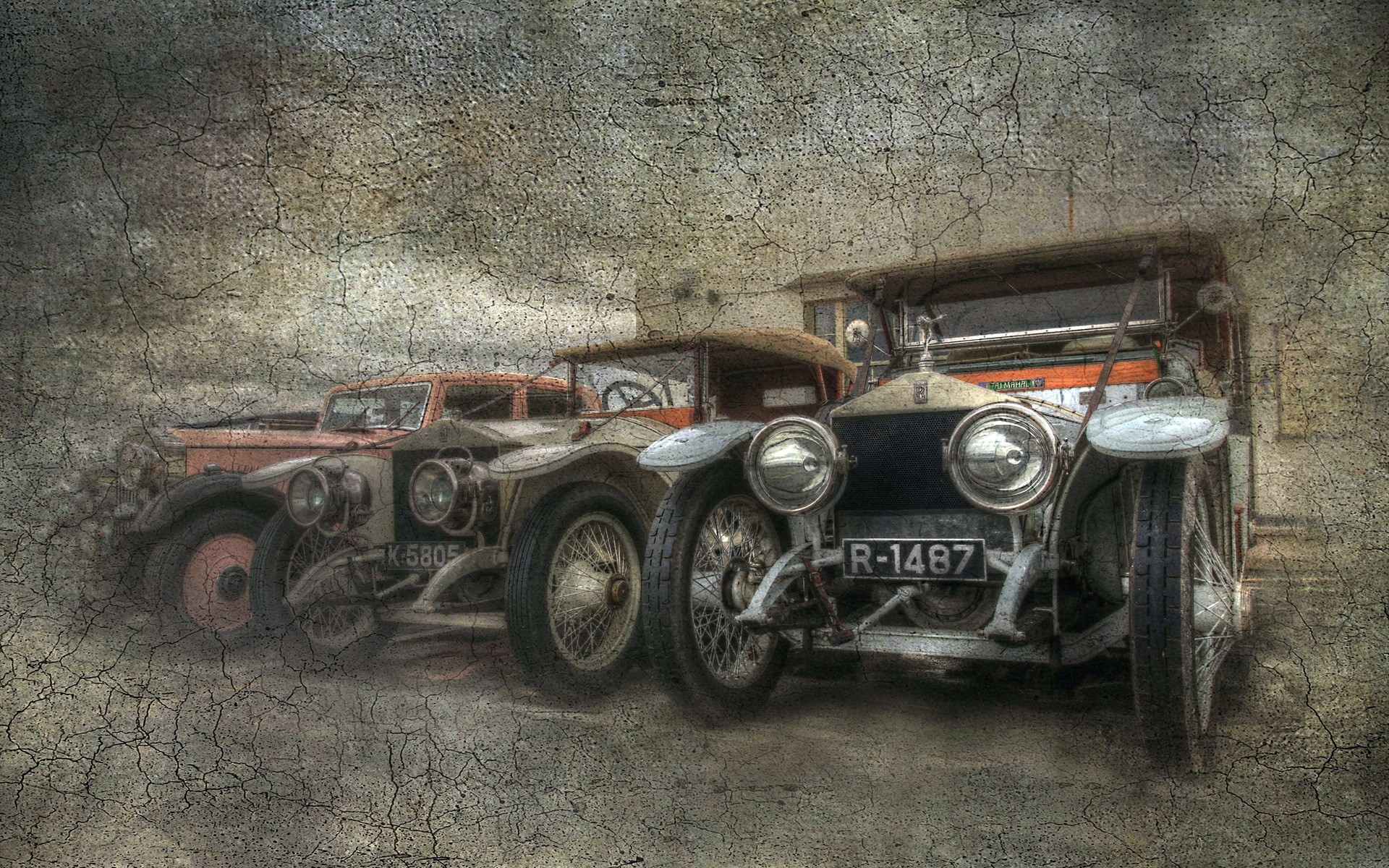 Vintage Car Poster Iphone Wallpapers For Free