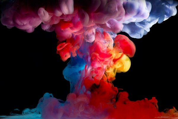 Colored Smoke Paint