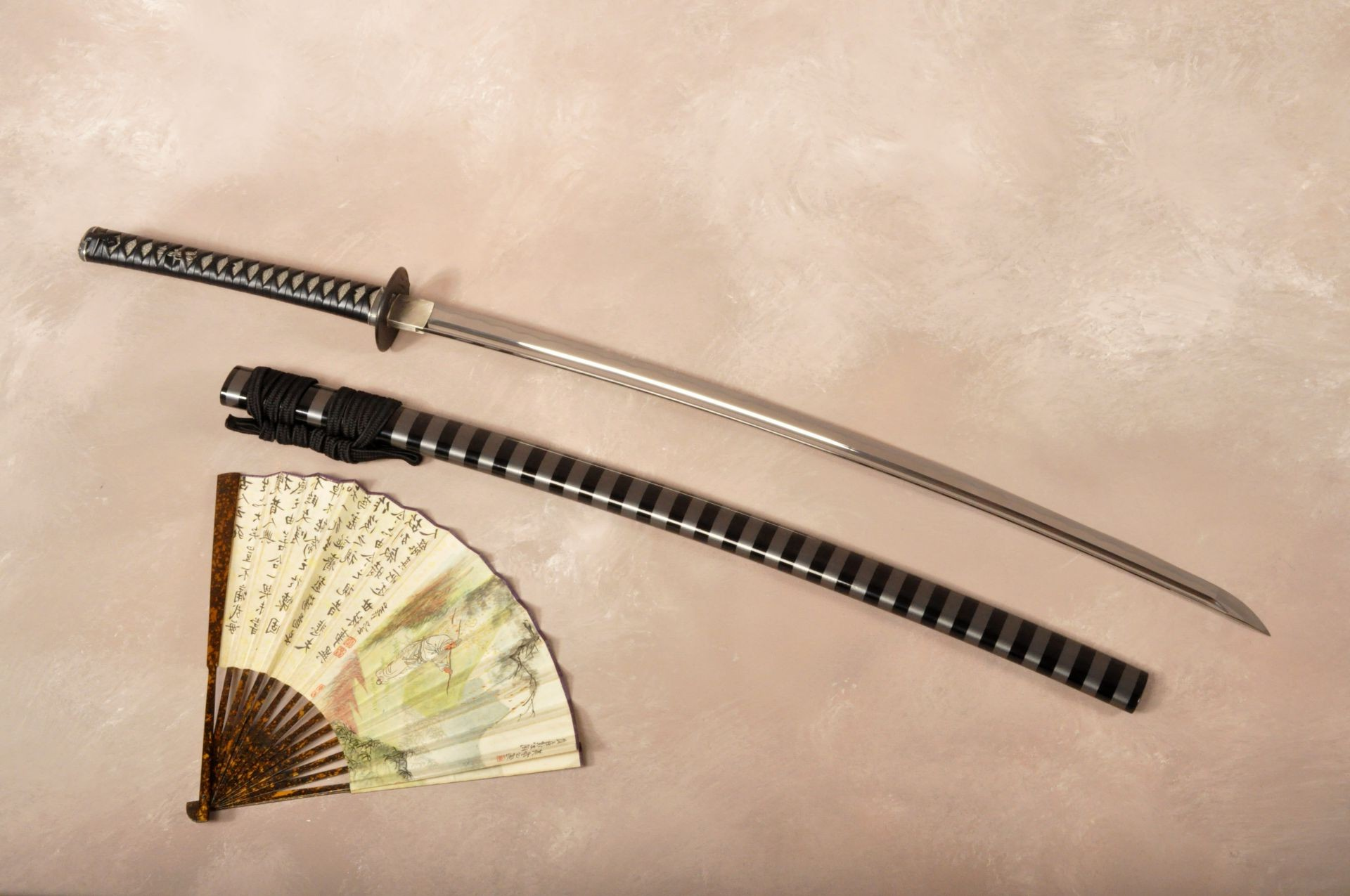 sheathe your sword katana fan