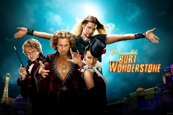 2013 The Incredible Burt Wonderstone Poster