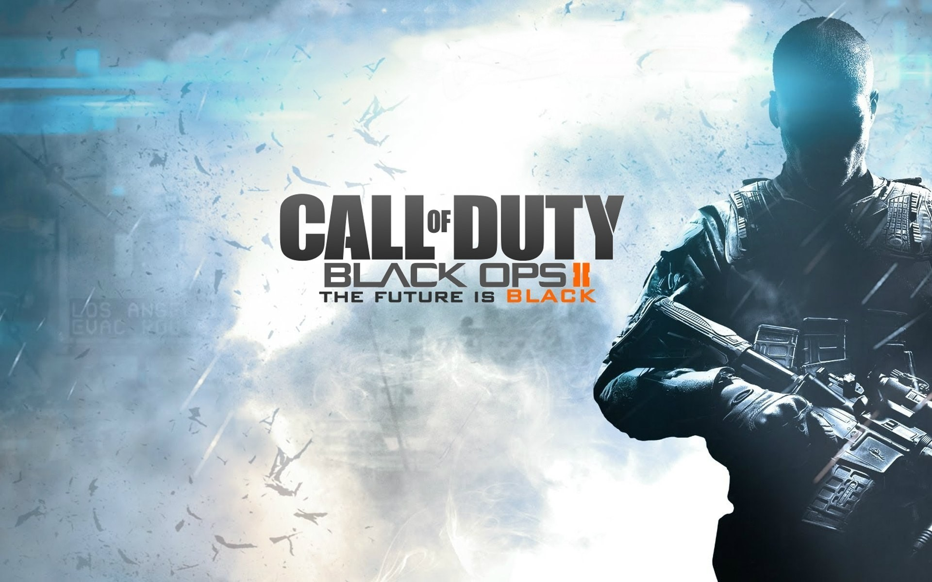 Call Of Duty Black Ops 2 Future Black Android Wallpapers