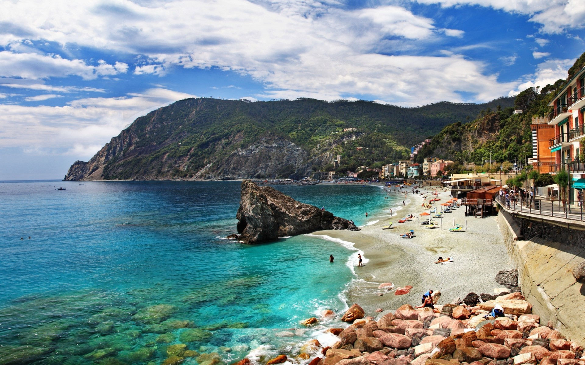 Monterosso Al Mare Cinque Terre Android Wallpapers