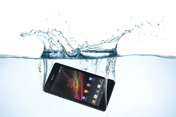 Sony Xperia Swimming