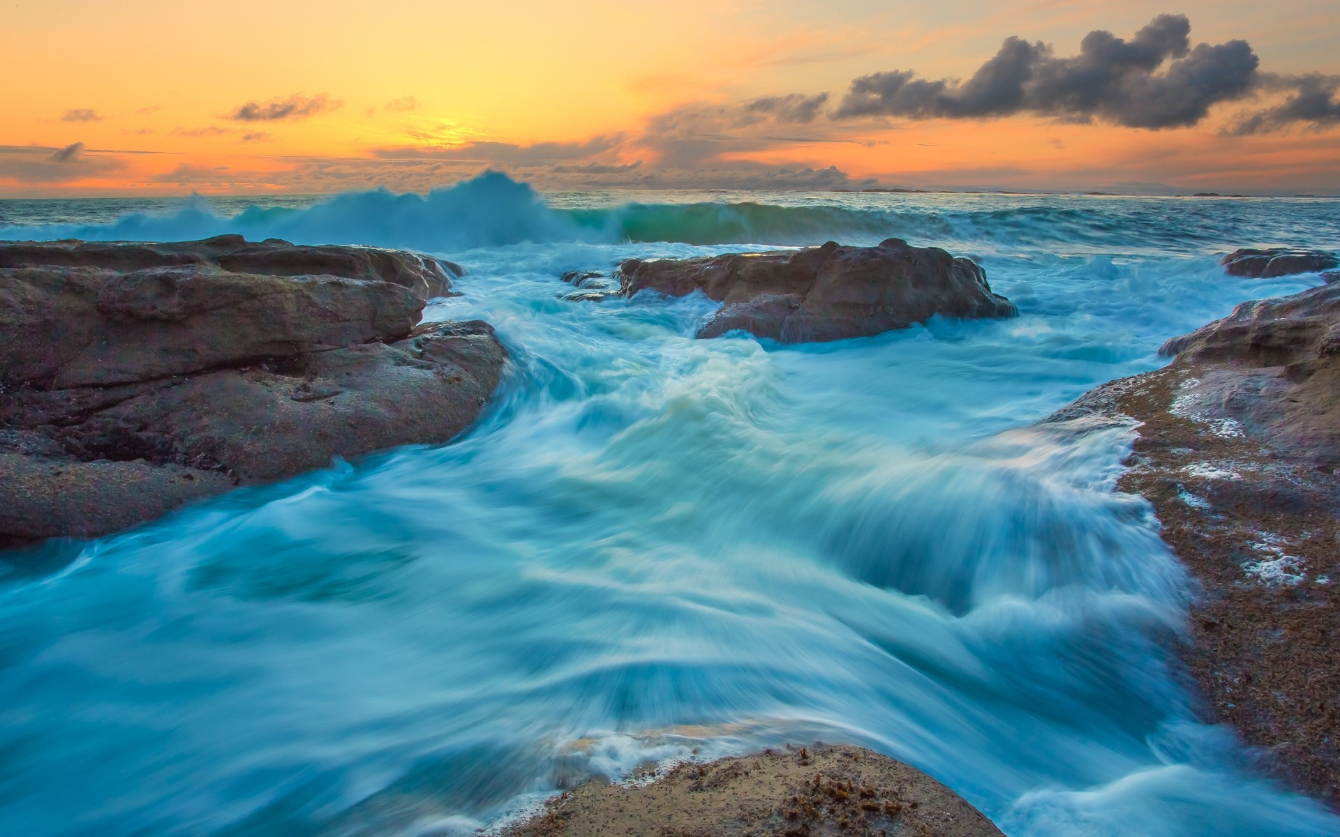 Turquoise Water Waves IPhone Wallpapers For Free