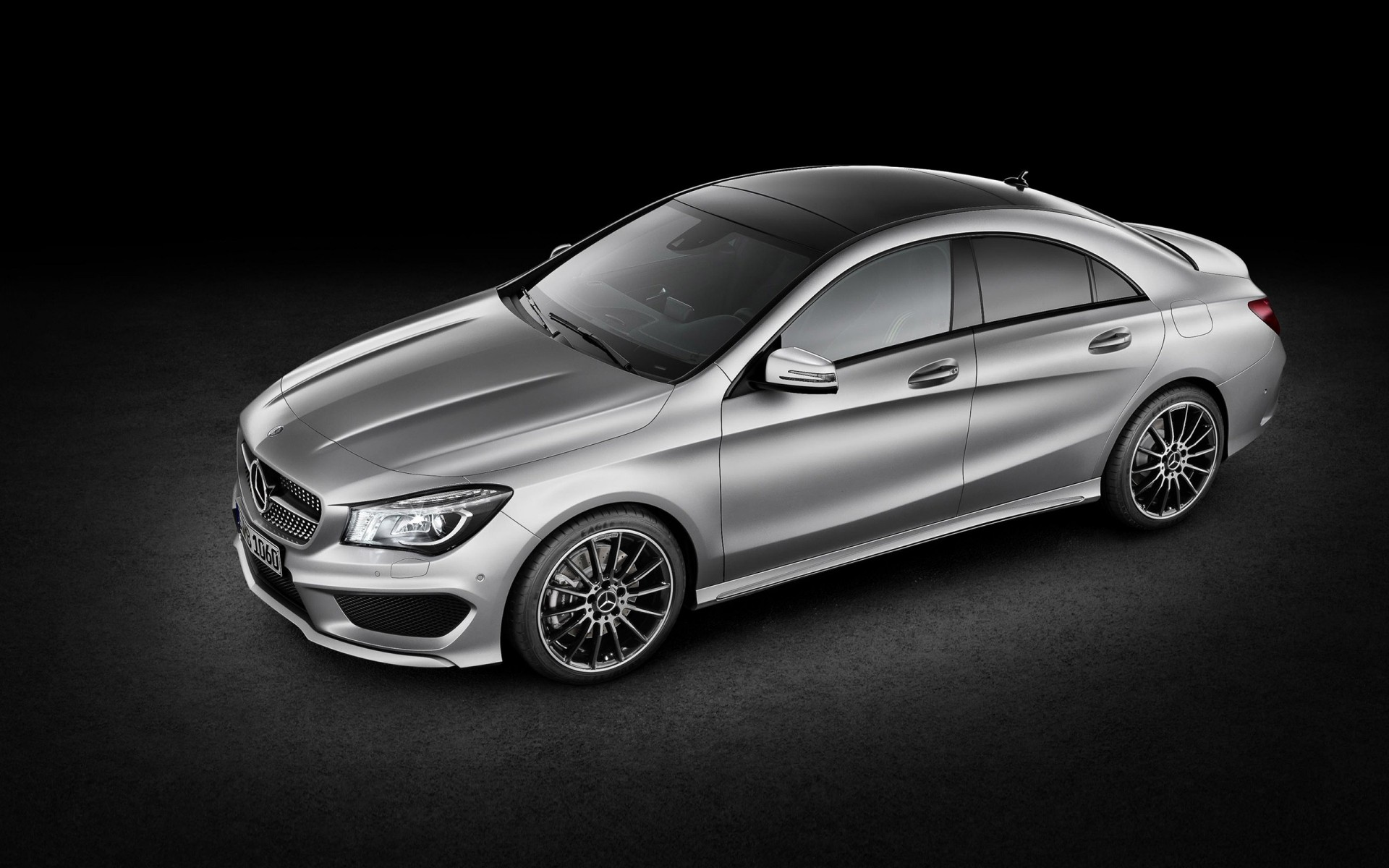 Metallic Mercedes Benz Cla Phone Wallpapers