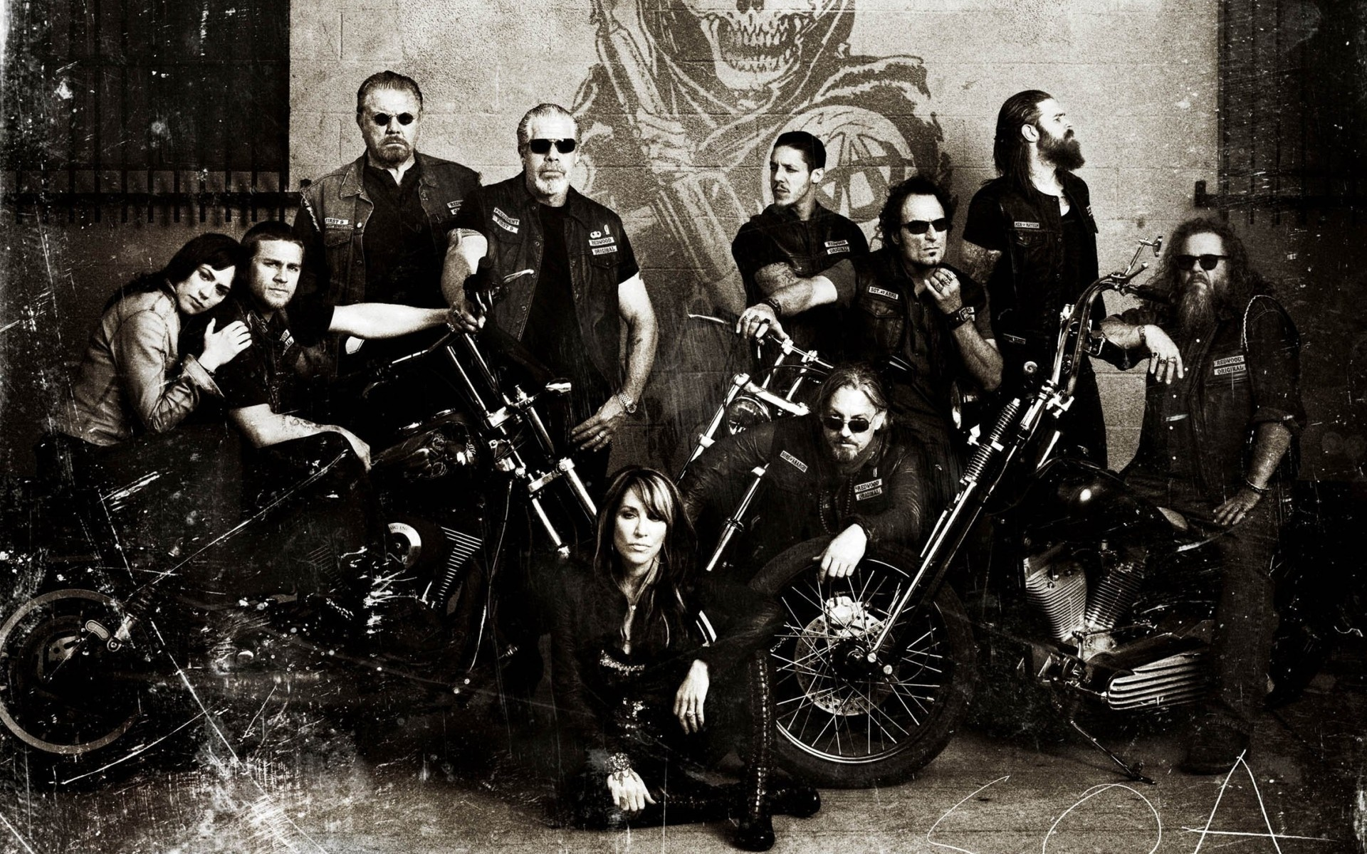 Sons Of Anarchy Television Drama Phone Wallpapers