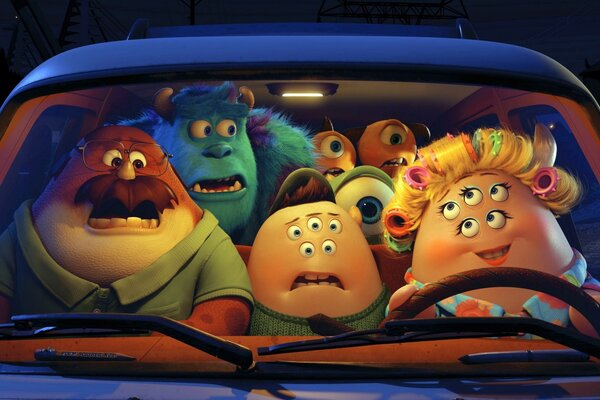 Pixar Monsters University Film