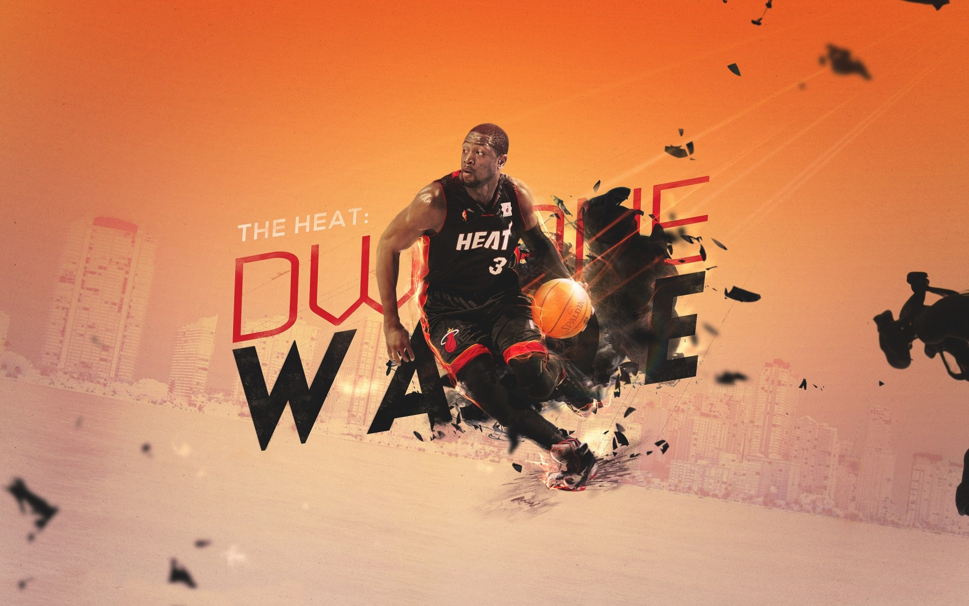 dwyane wade poster. android wallpapers for free.