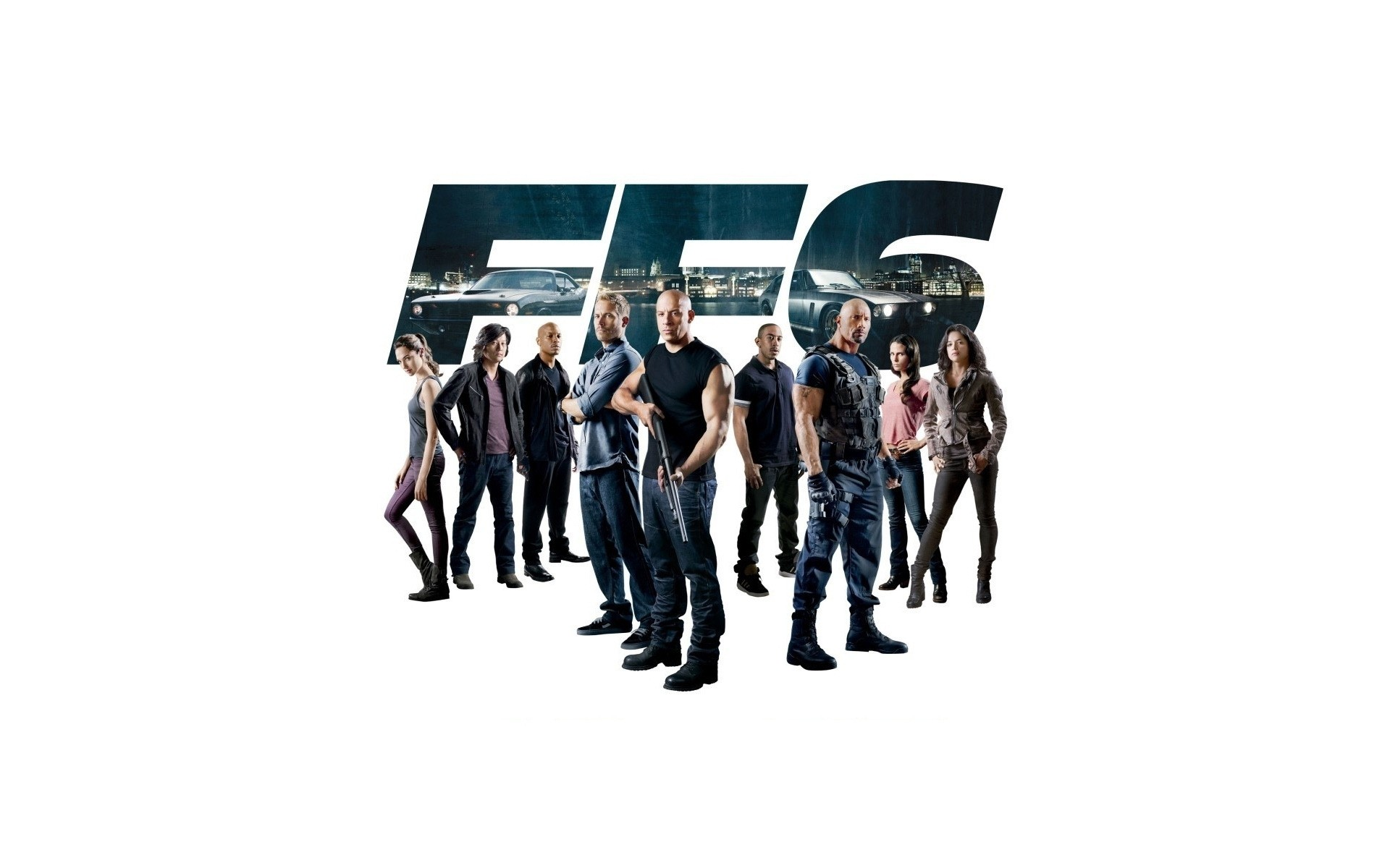 The Fast And The Furious 6 Poster Phone Wallpapers