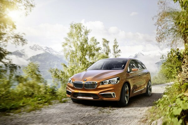 Beautiful BMW Concept Active Tourer