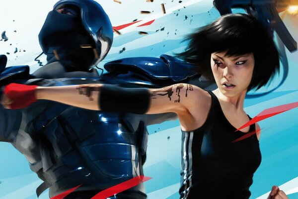 Mirrors Edge 2 Fight
