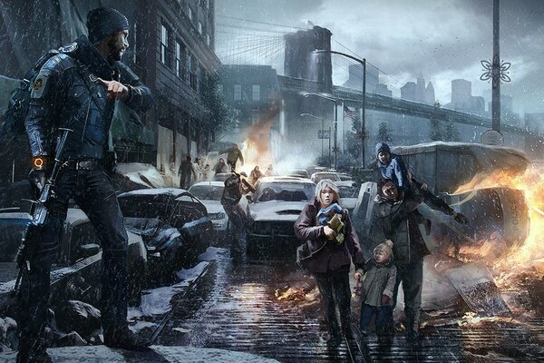 Tom Clancy The Division Fan Art