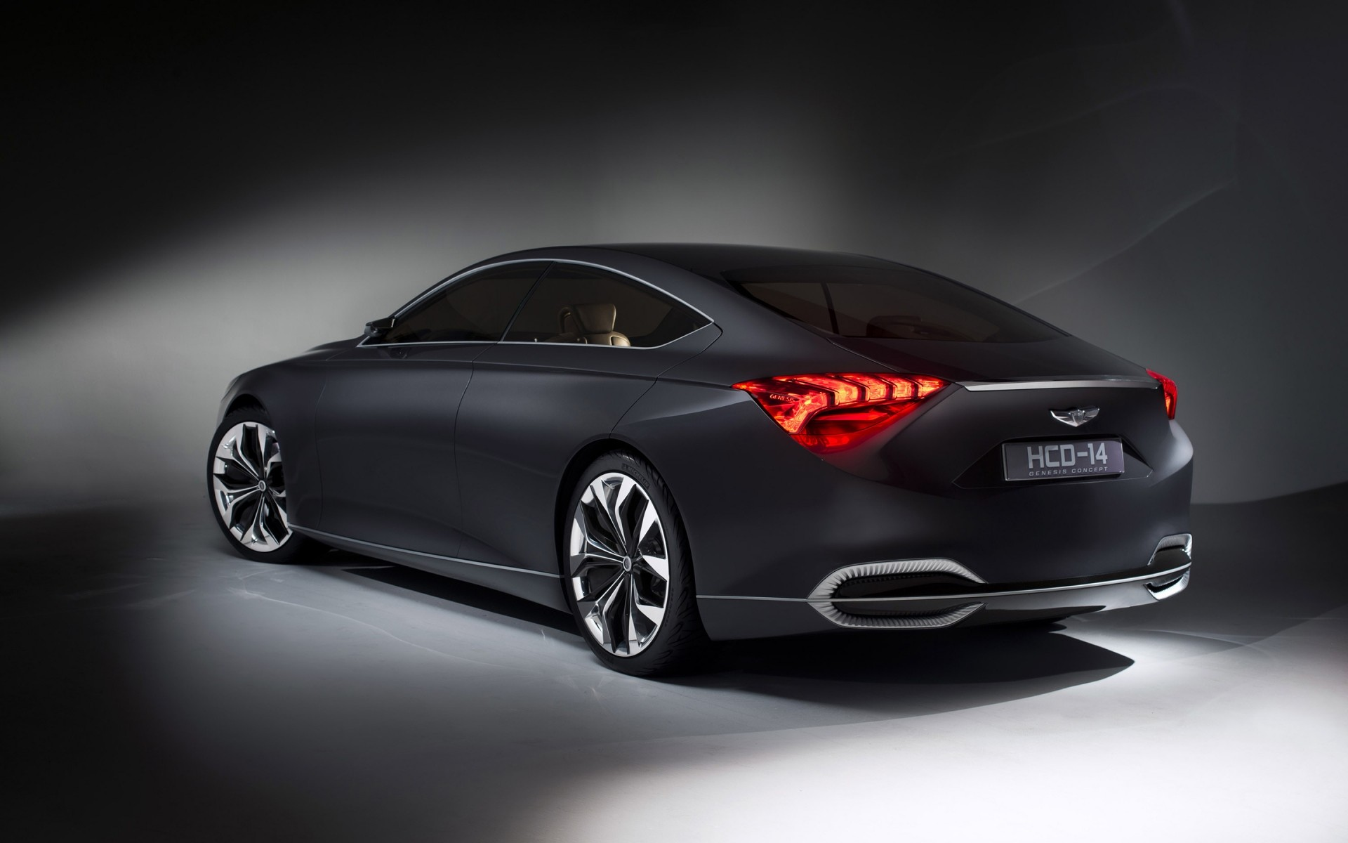 Rear Of Hyundai Genesis Concept Android Wallpapers For Free