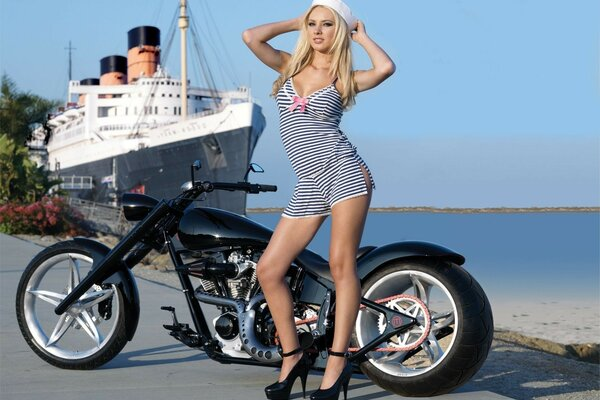 sailor ship Bike