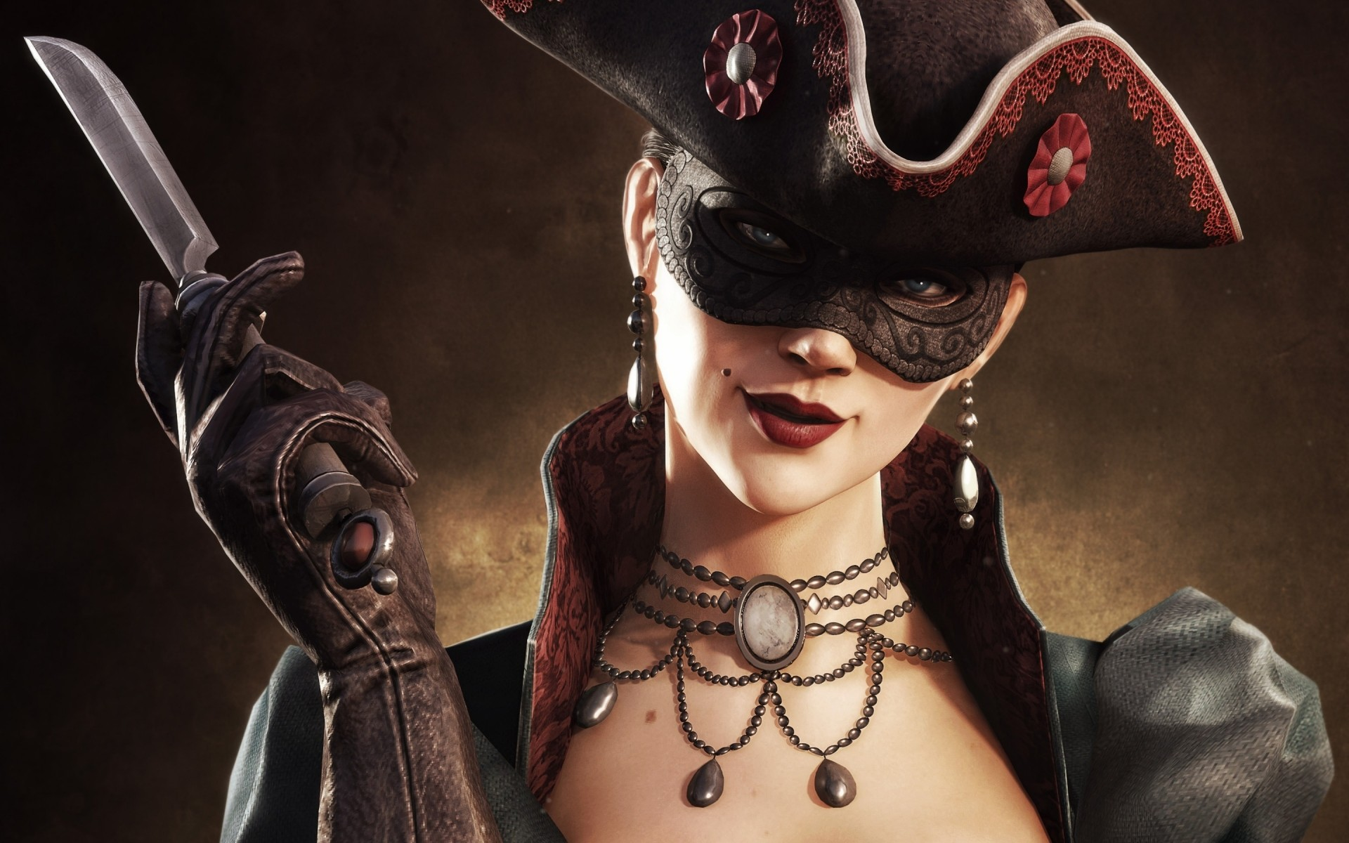 Girl From Assassins Creed 4 Free Wallpapers