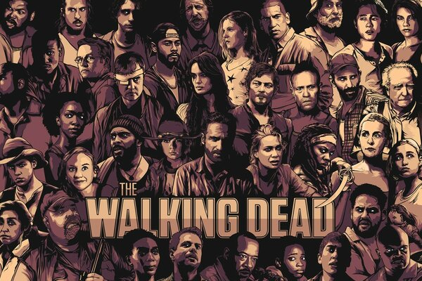 The Walking Dead Cool Poster