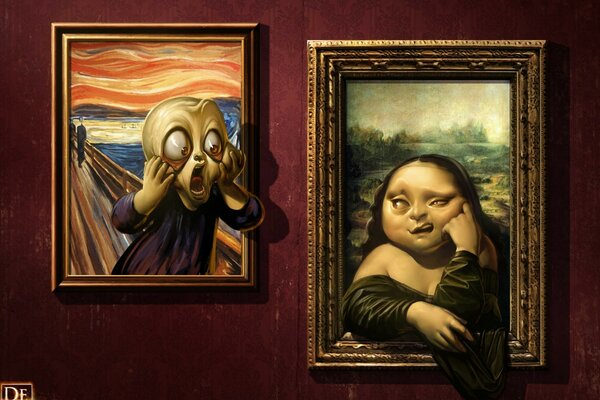Parodies of Famous Paintings