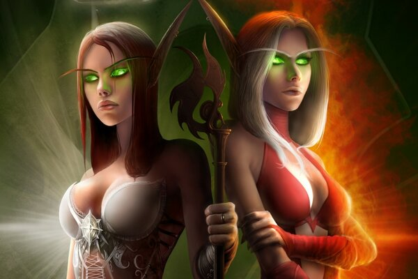 World of Warcraft Elf Costumes
