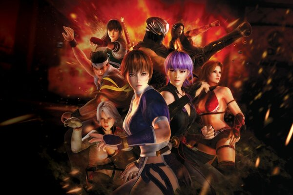 Dead or Alive 5 Poster