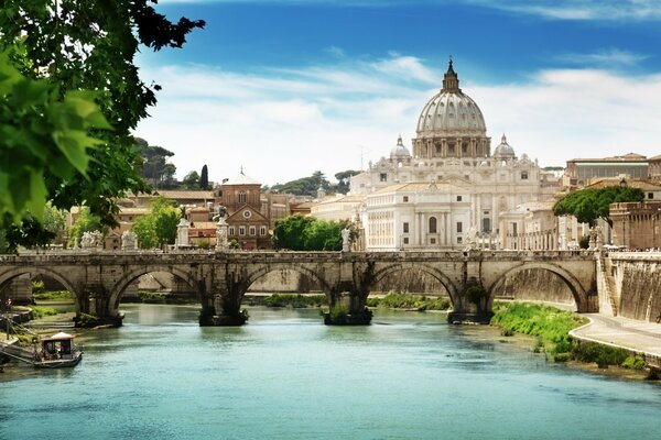 St Angelo Bridge Rome