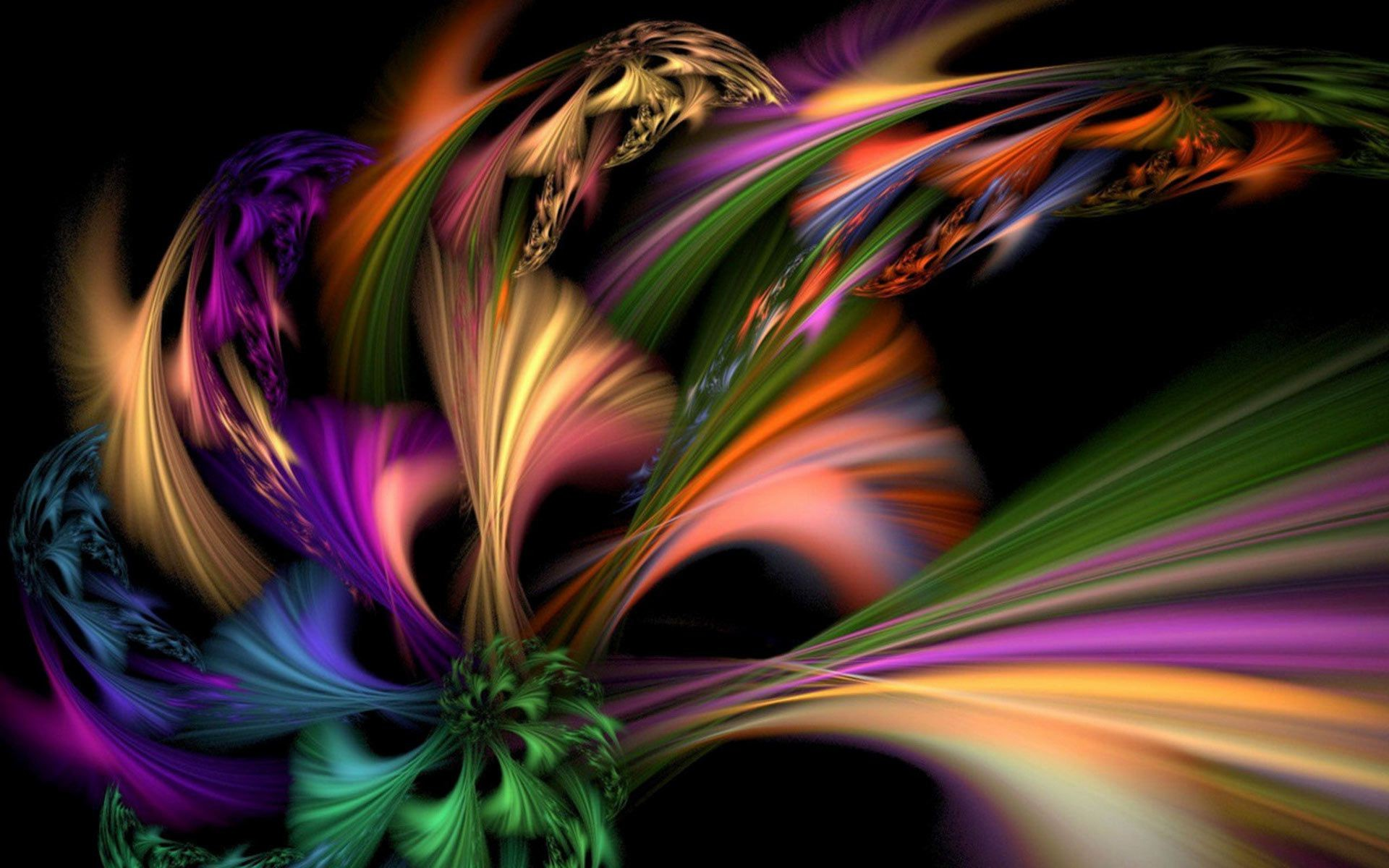 macro abstract fractal curve surreal art graphic fantasy flame dynamic motion blur illustration color fantastic line design wallpaper texture bright