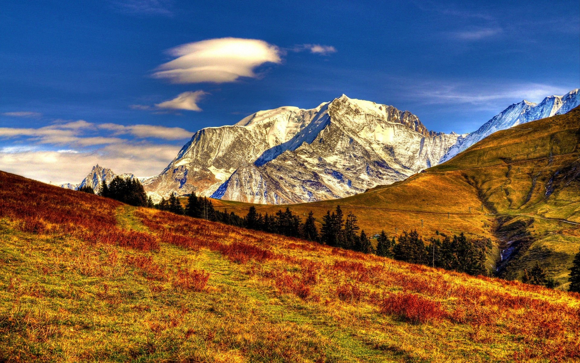 landscapes mountain landscape nature sky travel outdoors scenic mountain peak snow rock valley hill hdr mountains
