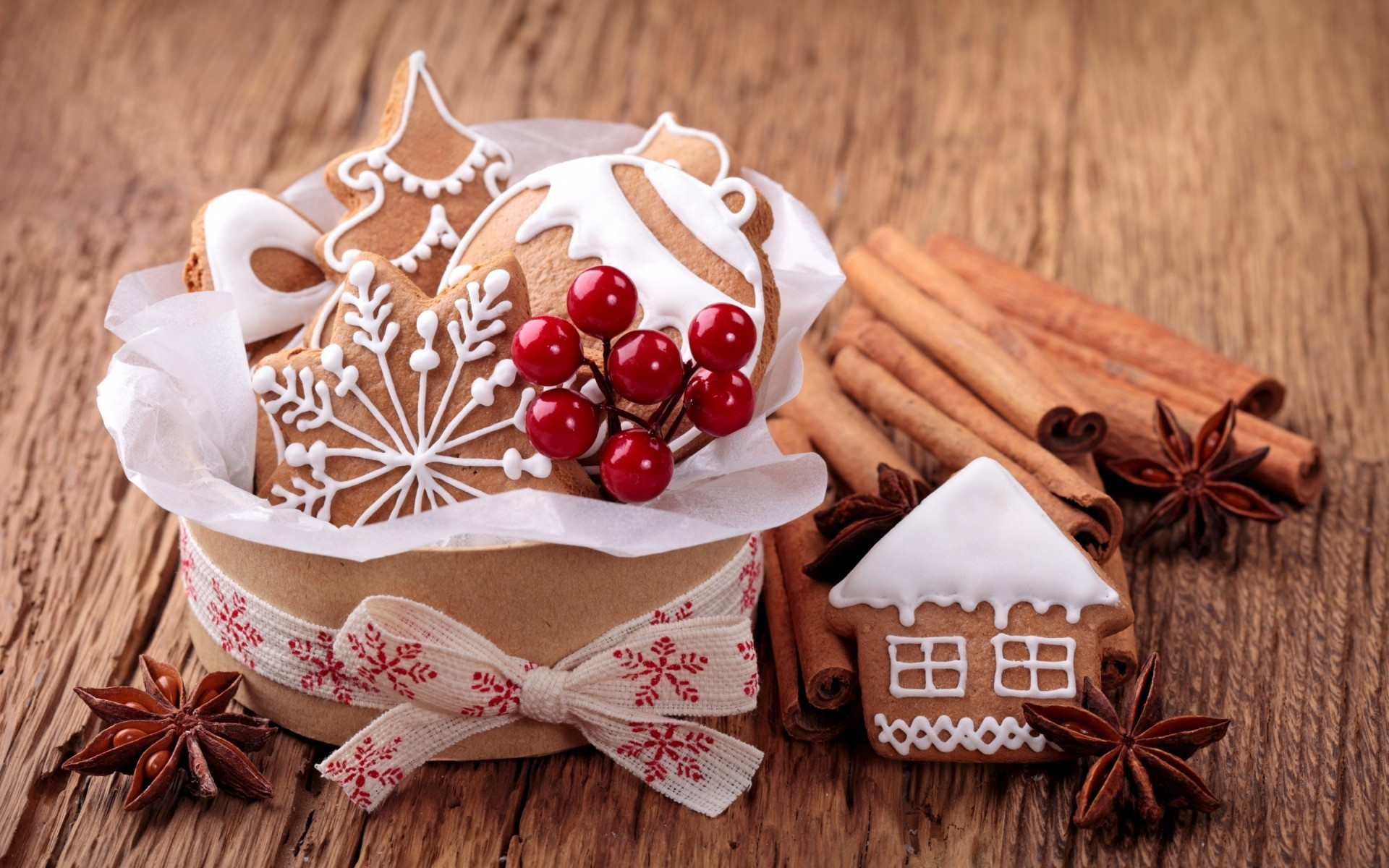 christmas cinnamon wooden wood anise food spice rustic traditional cookie gingerbread sweet star anise homemade aromatic table baking desktop advent sweets dessert christmas ornaments