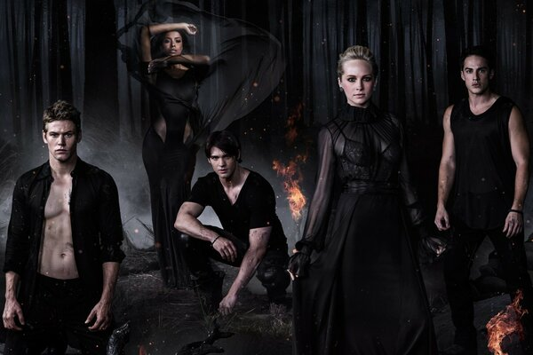 The Vampire Diaries Cool