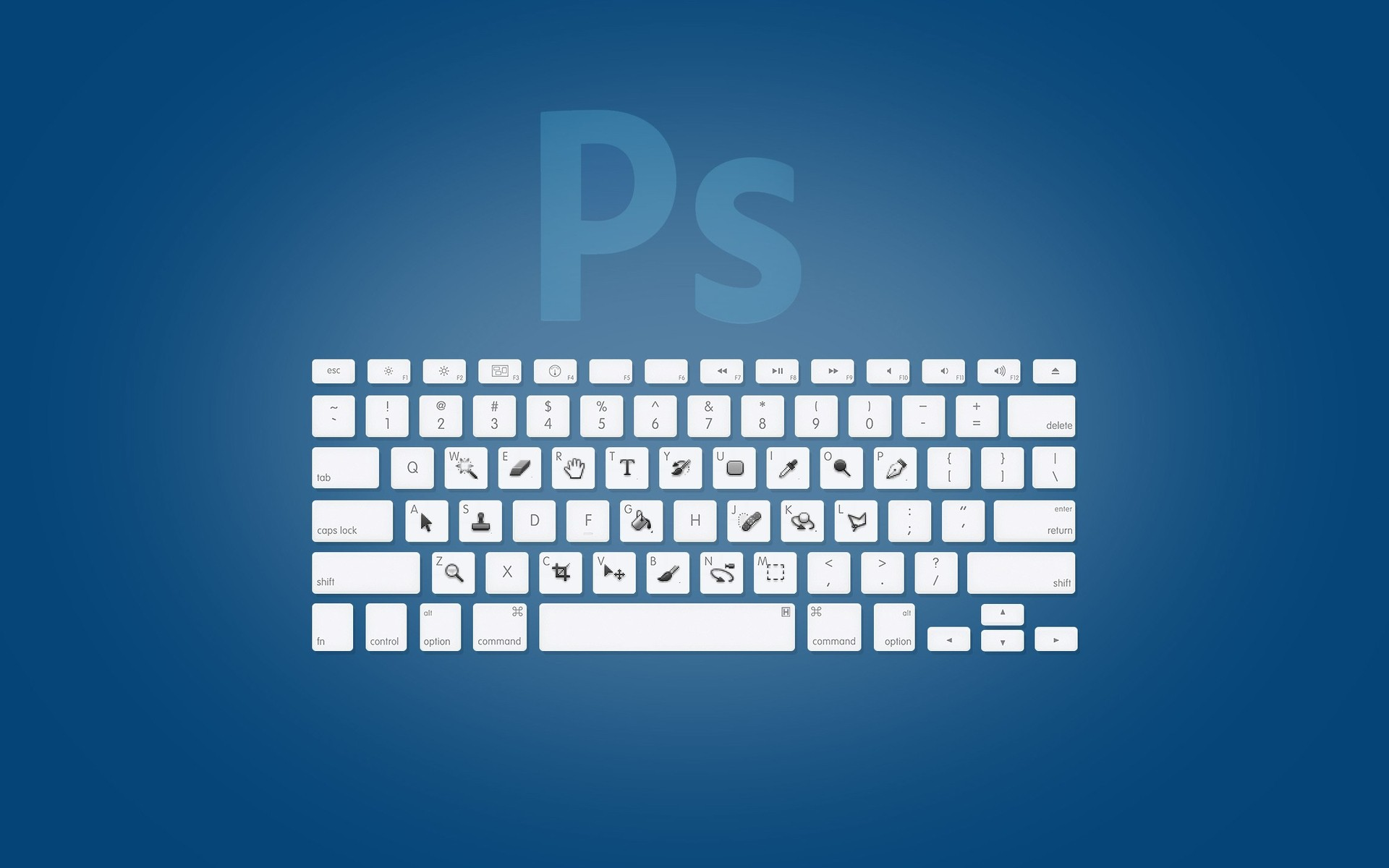 Photoshop Keyboard Phone Wallpapers
