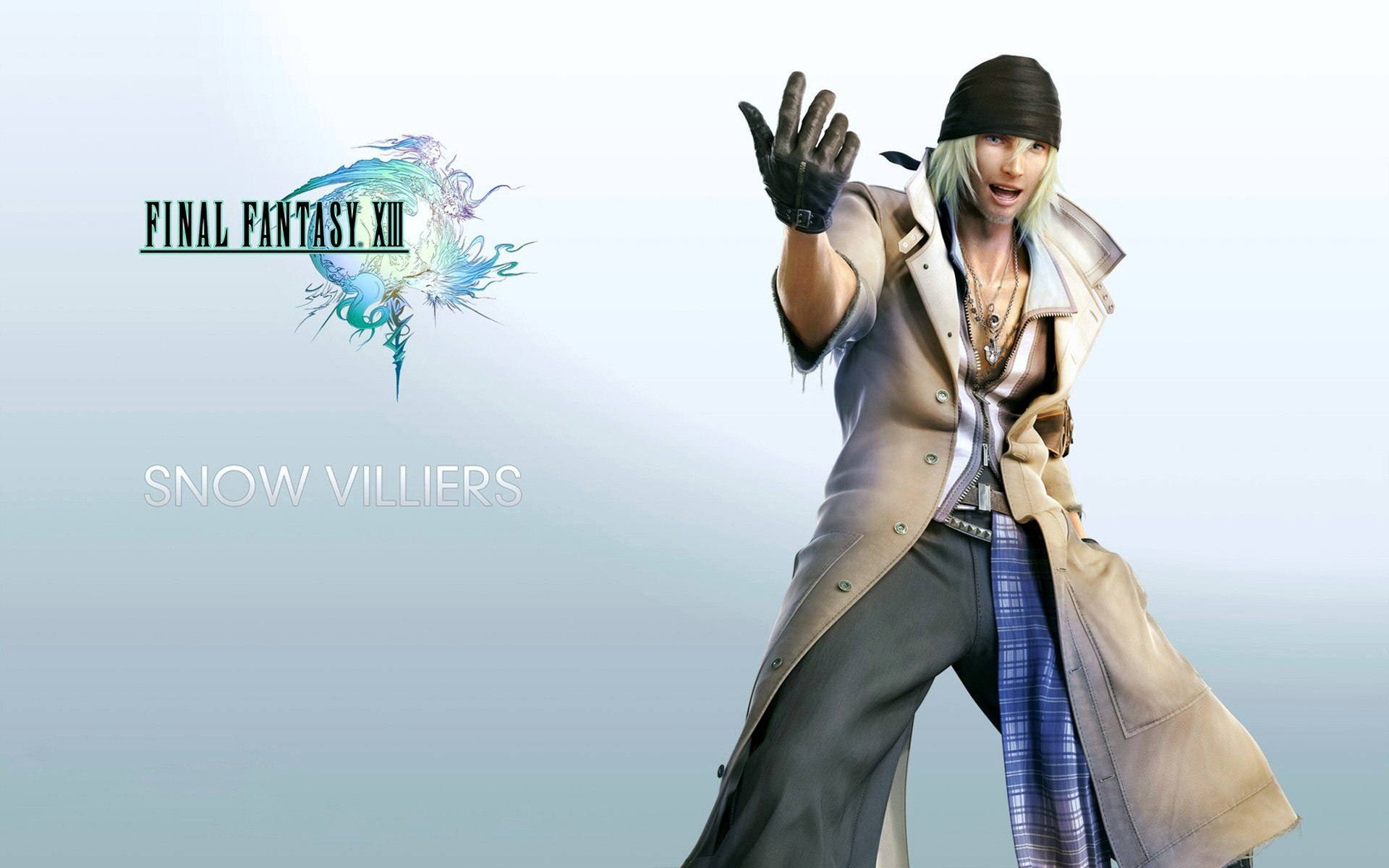 Final Fantasy Xiii Snow Villiers Android Wallpapers