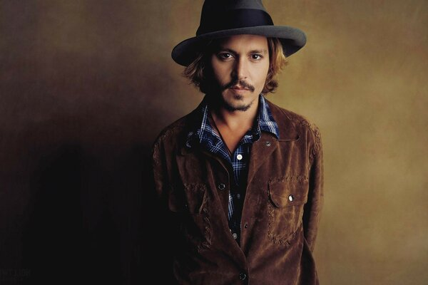 actor Johnny depp johnny Depp hat look