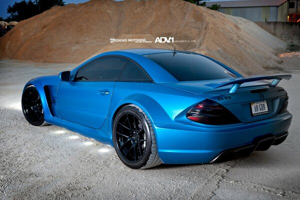 SL65 AMG by ADV Wheels