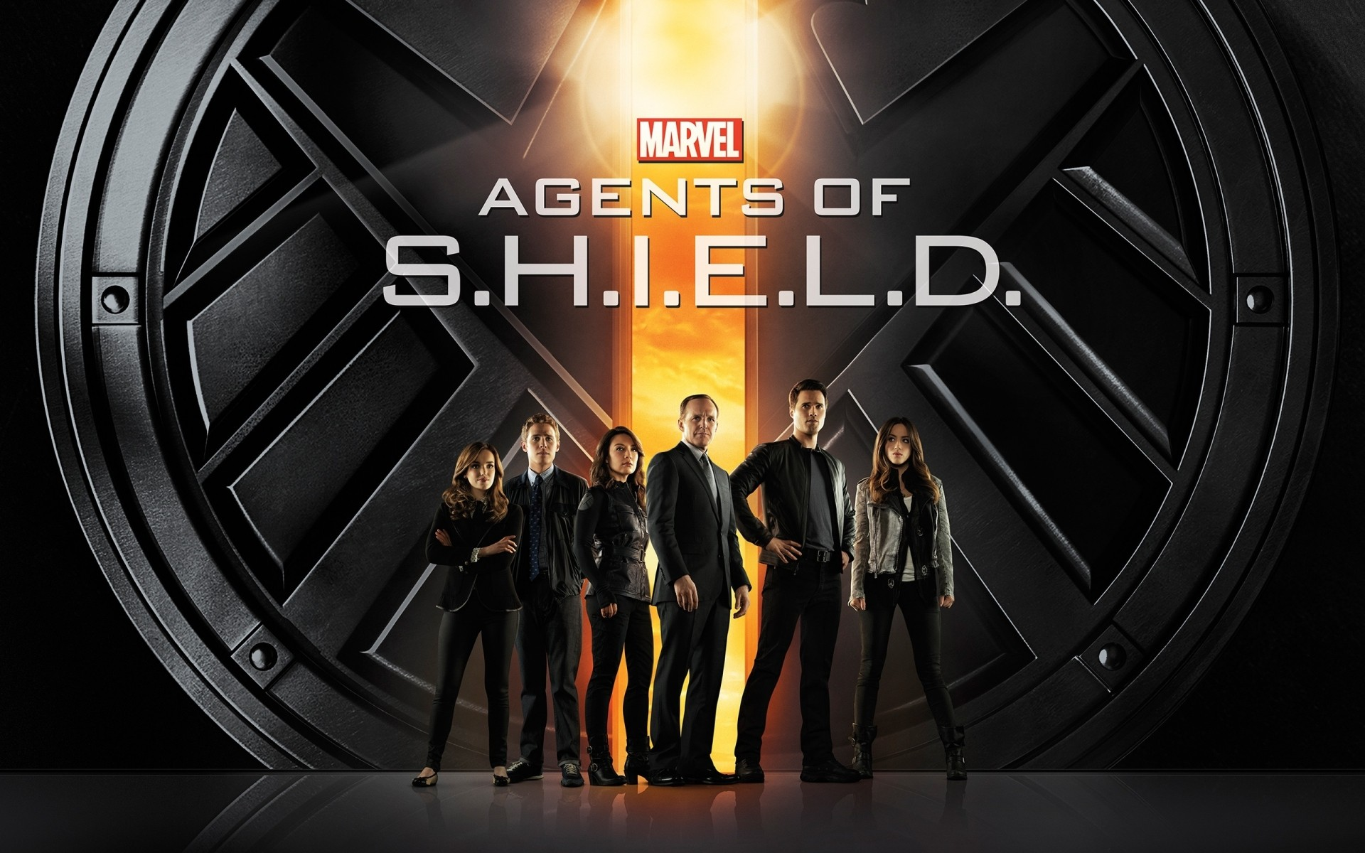 tv series indoors business illustration technology agents of shield