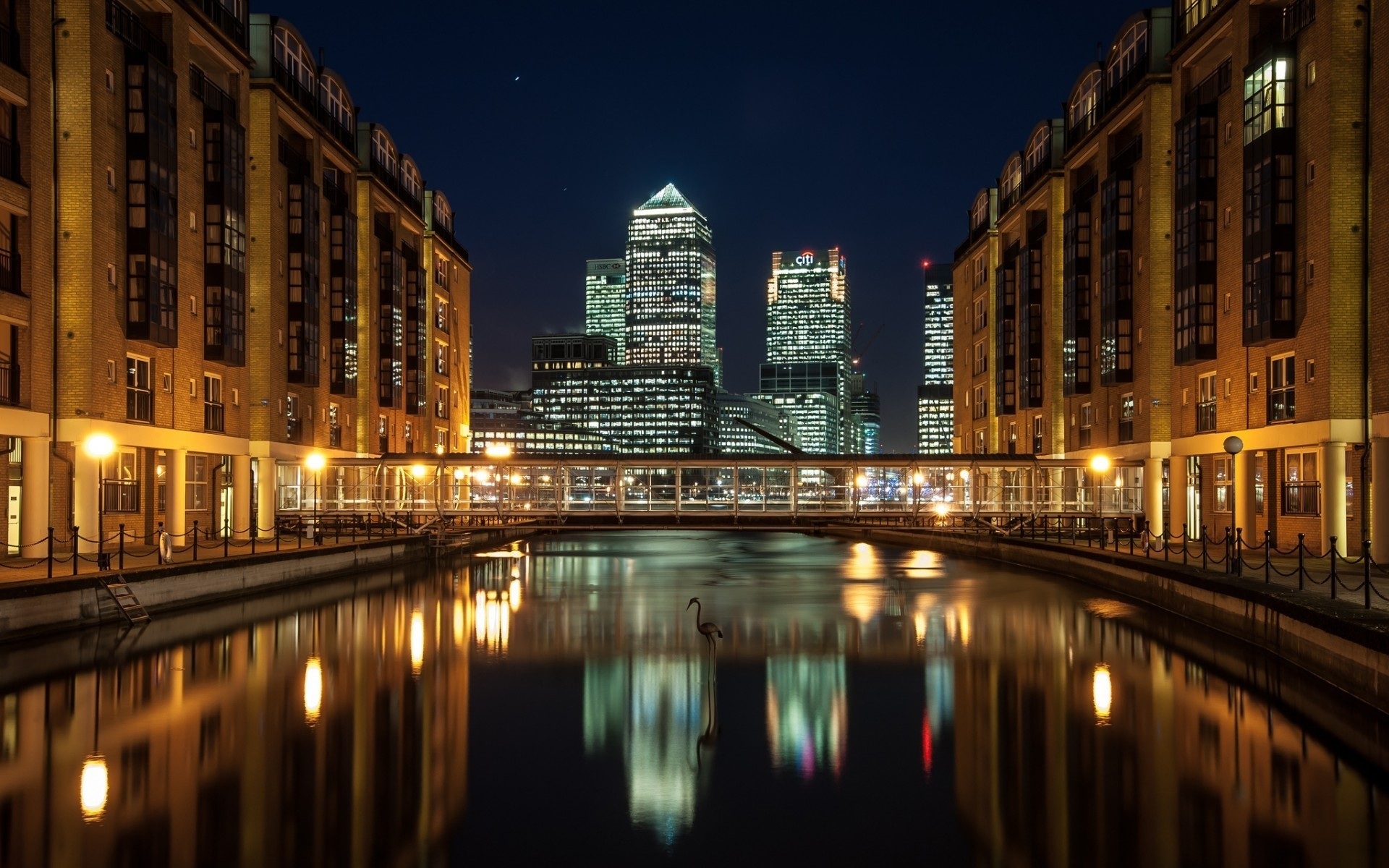 Canary Wharf View Android Wallpapers