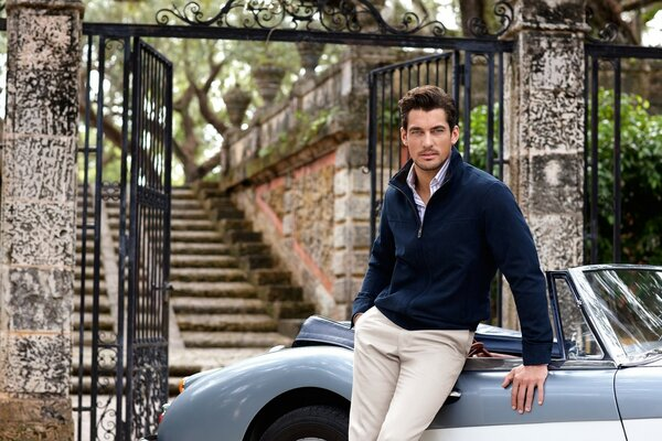 Handsome David Gandy