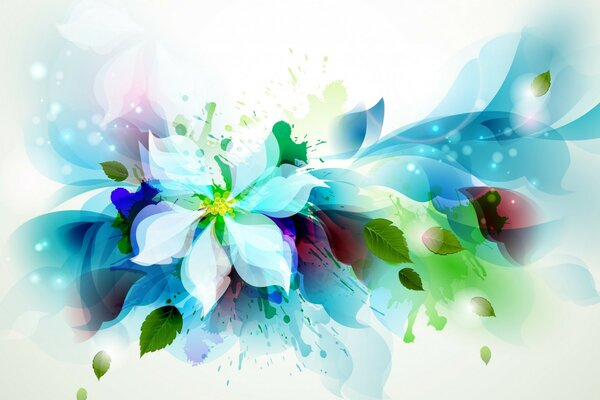 Beautiful Flower Art