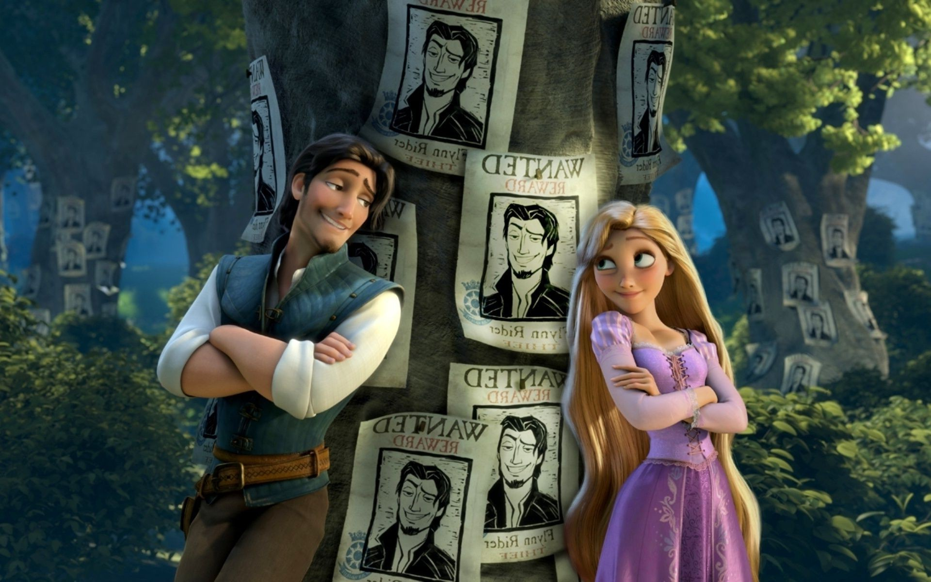Rapunzel Flynn Tangled Movie Tangled The Wanted History Android Wallpapers