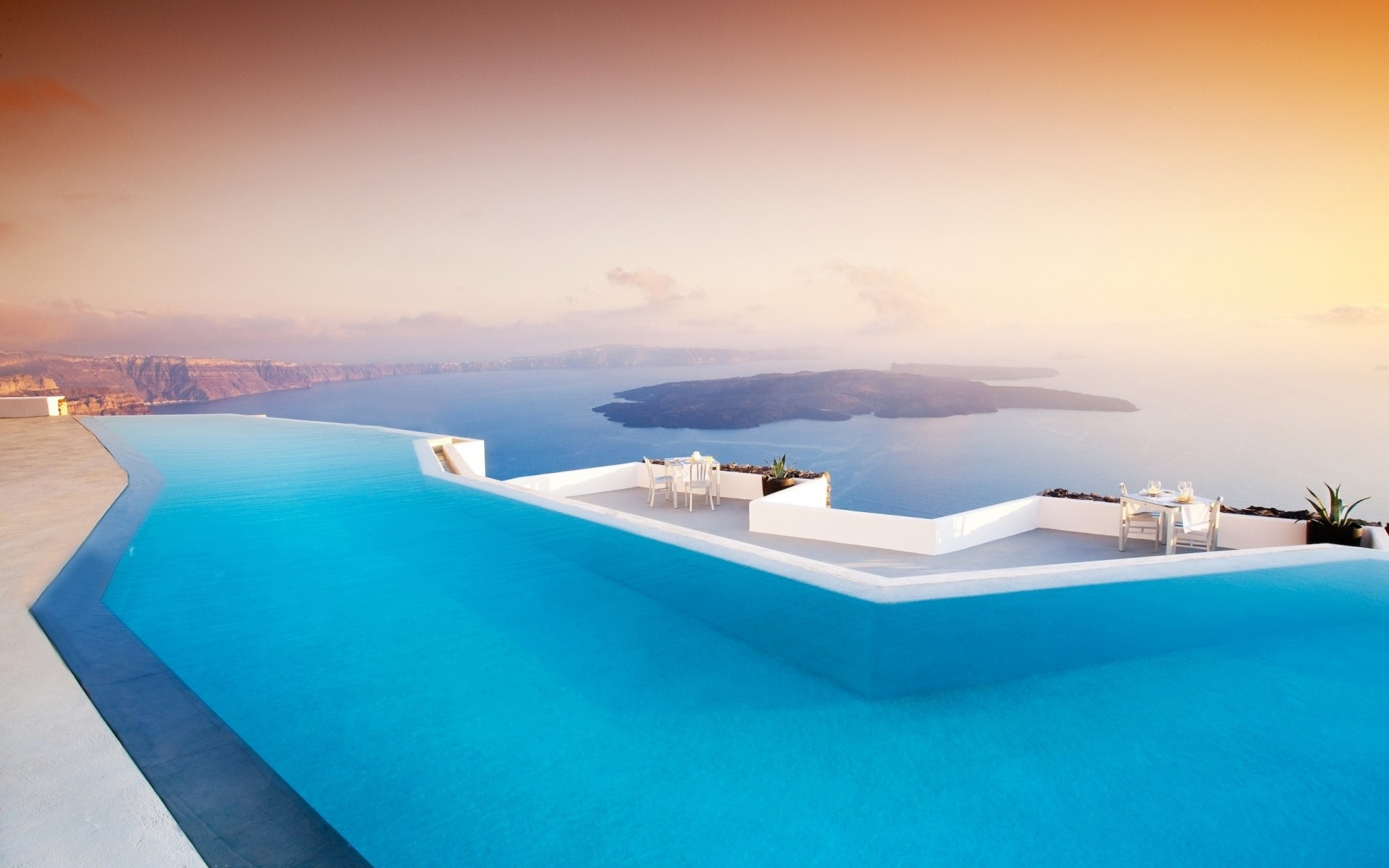 greece water travel tropical sun island vacation beach summer sea idyllic relaxation ocean exotic luxury seashore turquoise seascape fair weather leisure santorini pool landscape