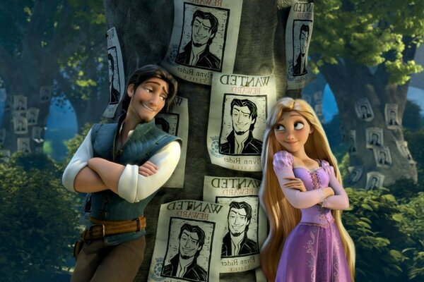 rapunzel flynn Tangled movie tangled the wanted history