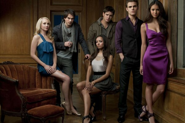 From the movie the vampire Diaries