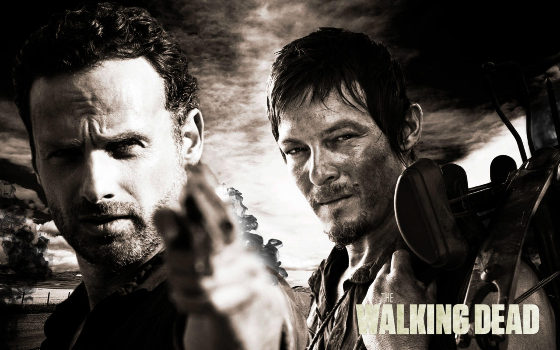 Rick And Daryl The Walking Dead Free Wallpapers