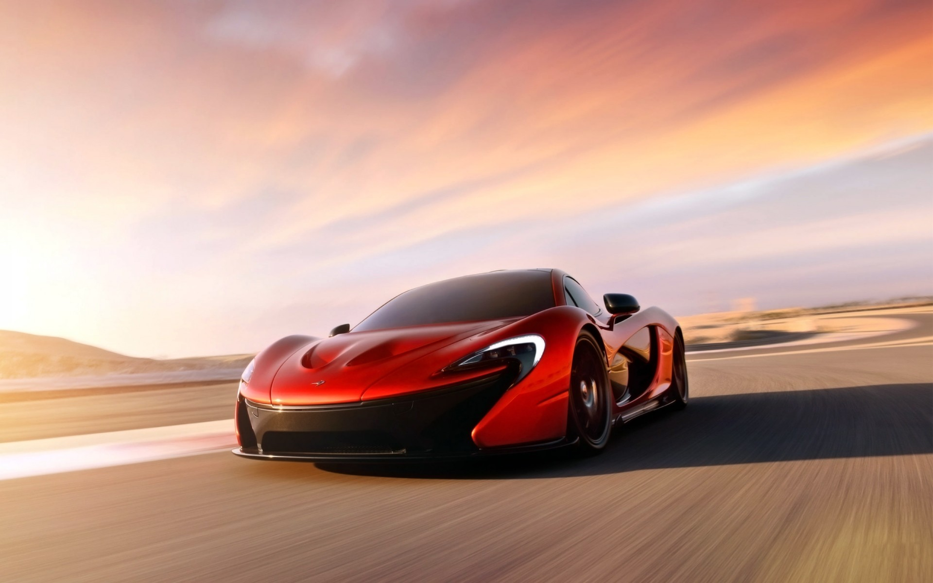 concept cars car hurry vehicle blur fast asphalt action transportation system race pavement sunset wheel blacktop mclaren p1